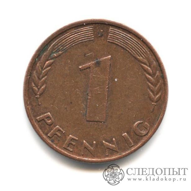 5 pfennig 1989 цена