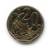 20 центов 2014 года (Регулярный выпуск)— ЮАР