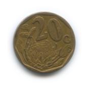 20 центов 2006 года (Регулярный выпуск)— ЮАР