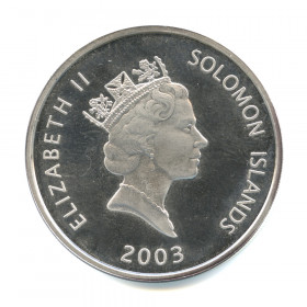 25 долларов 2003— Конкорд— Соломоновы острова