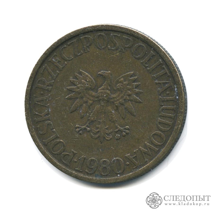 2 злотых 1980 года цена сколько стоит 1 гривна монета 2006 года