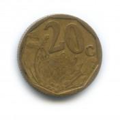 20 центов 2001 года (Регулярный выпуск)— ЮАР