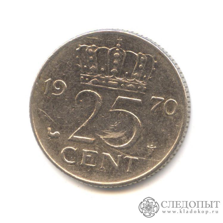 25 центов 1970 купить 1000 франков с петром и февронией