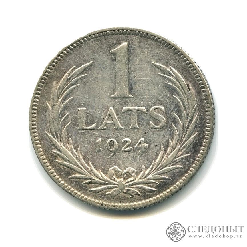 Монета латвии 1 лат 1924 года цена 5 центов 1980 года цена