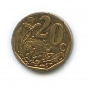 20 центов 2013 года (Регулярный выпуск)— ЮАР