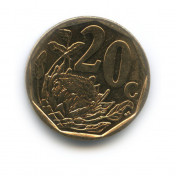 20 центов 2011 года (Регулярный выпуск)— ЮАР
