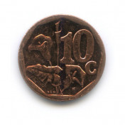 10 центов 2013 года (Регулярный выпуск)— ЮАР