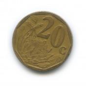 20 центов 2000 года «Старый тип»— ЮАР