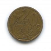 20 центов 1999 года (Регулярный выпуск)— ЮАР
