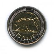 5 рандов 2014 года (Регулярный выпуск)— ЮАР