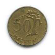 50 марок 1953 года (Регулярный выпуск)— Финляндия