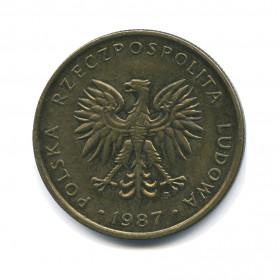 5 злотых 1980 года цена сколько стоит монета 1 гривна 2005 года цена в россии