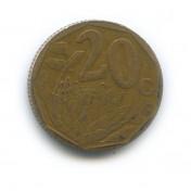 20 центов 1998 года (Регулярный выпуск)— ЮАР