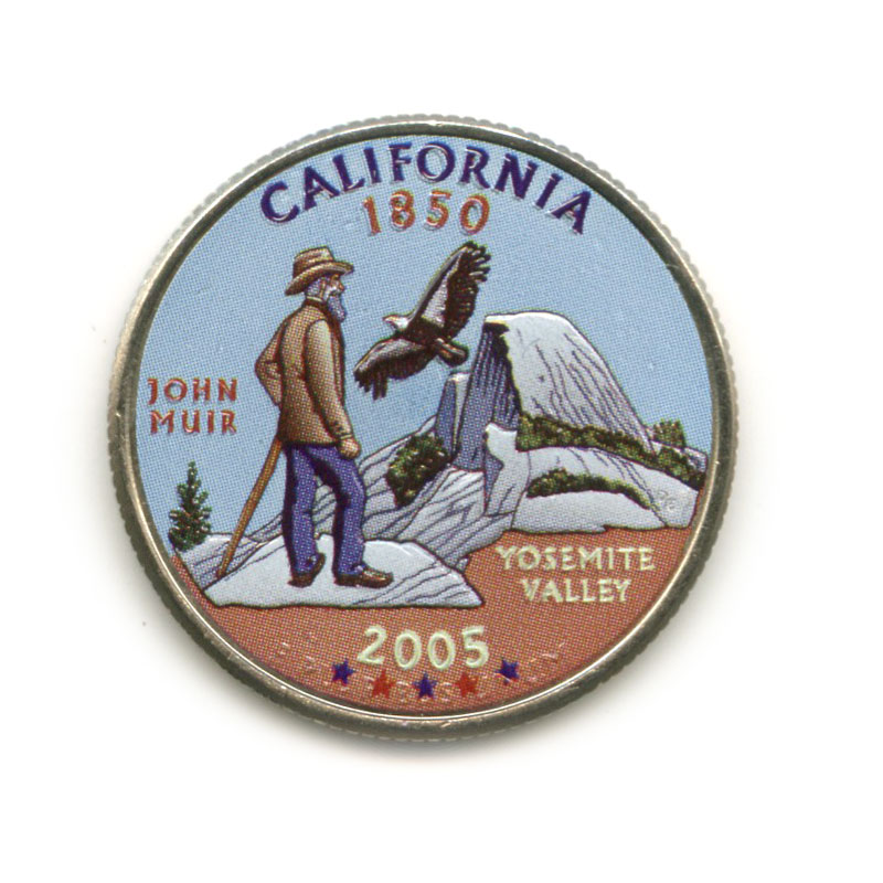25 центов 2005— Квотер штата Калифорния