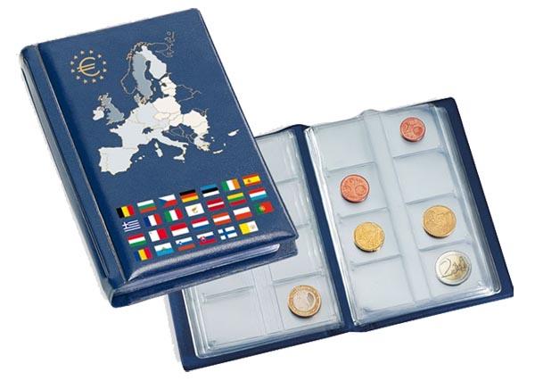 Альбом для евромонет NUMIS Pocket Euro, слистами
