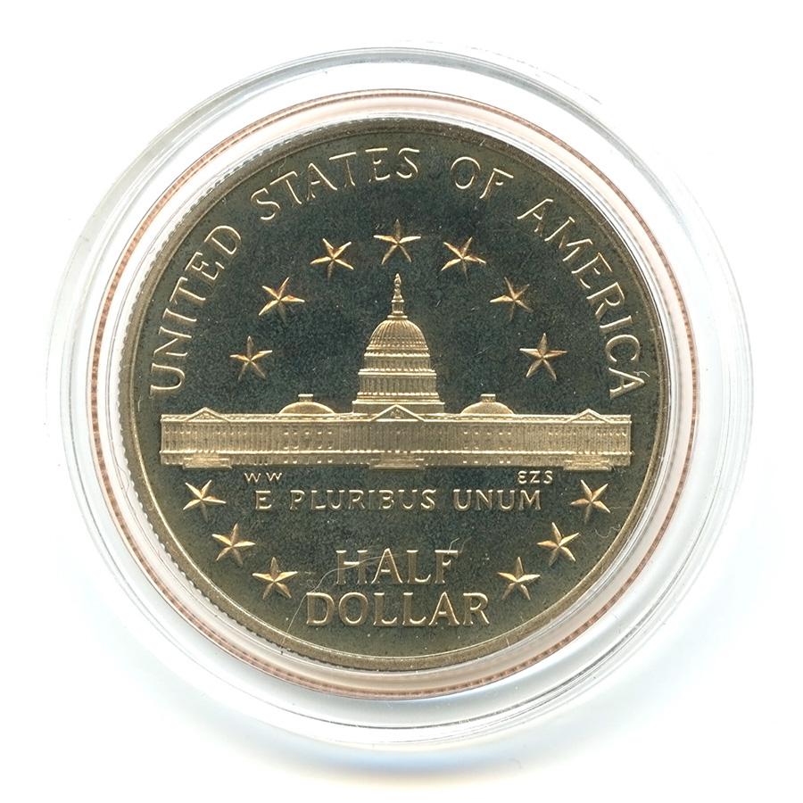 50 центов 1989— 200 лет Конгрессу S — США