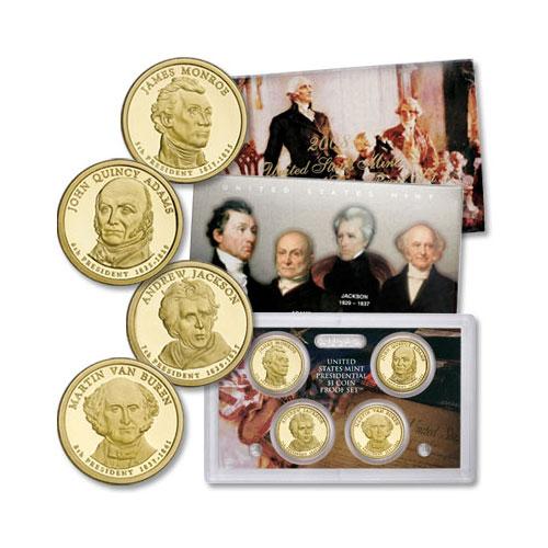 Юбилейный набор 2008 года— «Президенты»