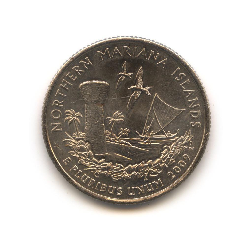 25 центов 2009— Квотер Северных Марианских островов P