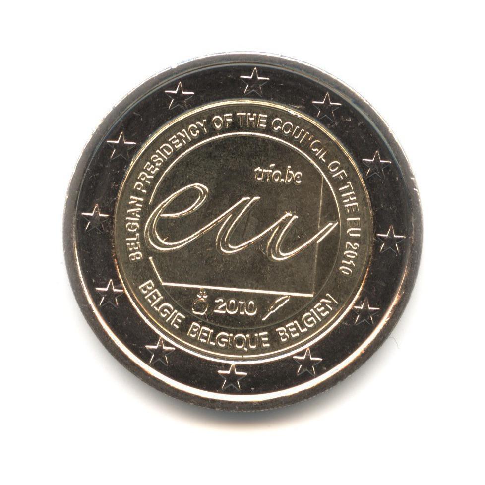 2 евро 2010 — Председательство Бельгии в Европейском Союзе — Бельгия
