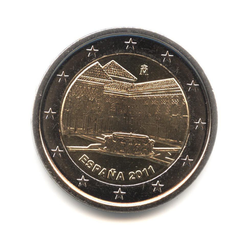 2 евро 2011 — ЮНЕСКО - Альгамбра, Хенералифе и Альбасин в Гранаде — Испания