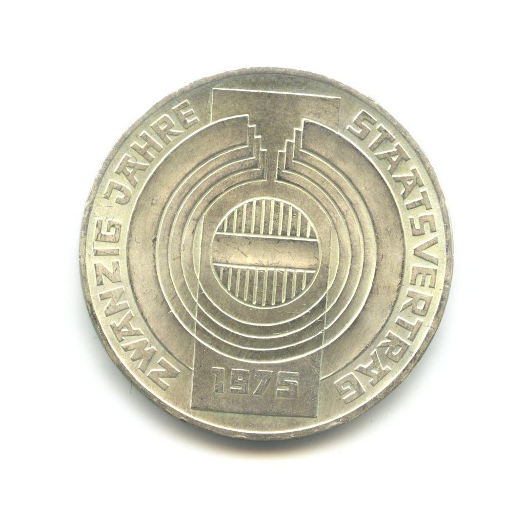 100 шиллингов 1975 — 20 лет декларации о независимости Австрии — Австрия
