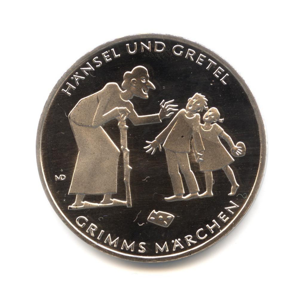 10евро 2014— Гензель иГретель— Сказки Гримм — Германия