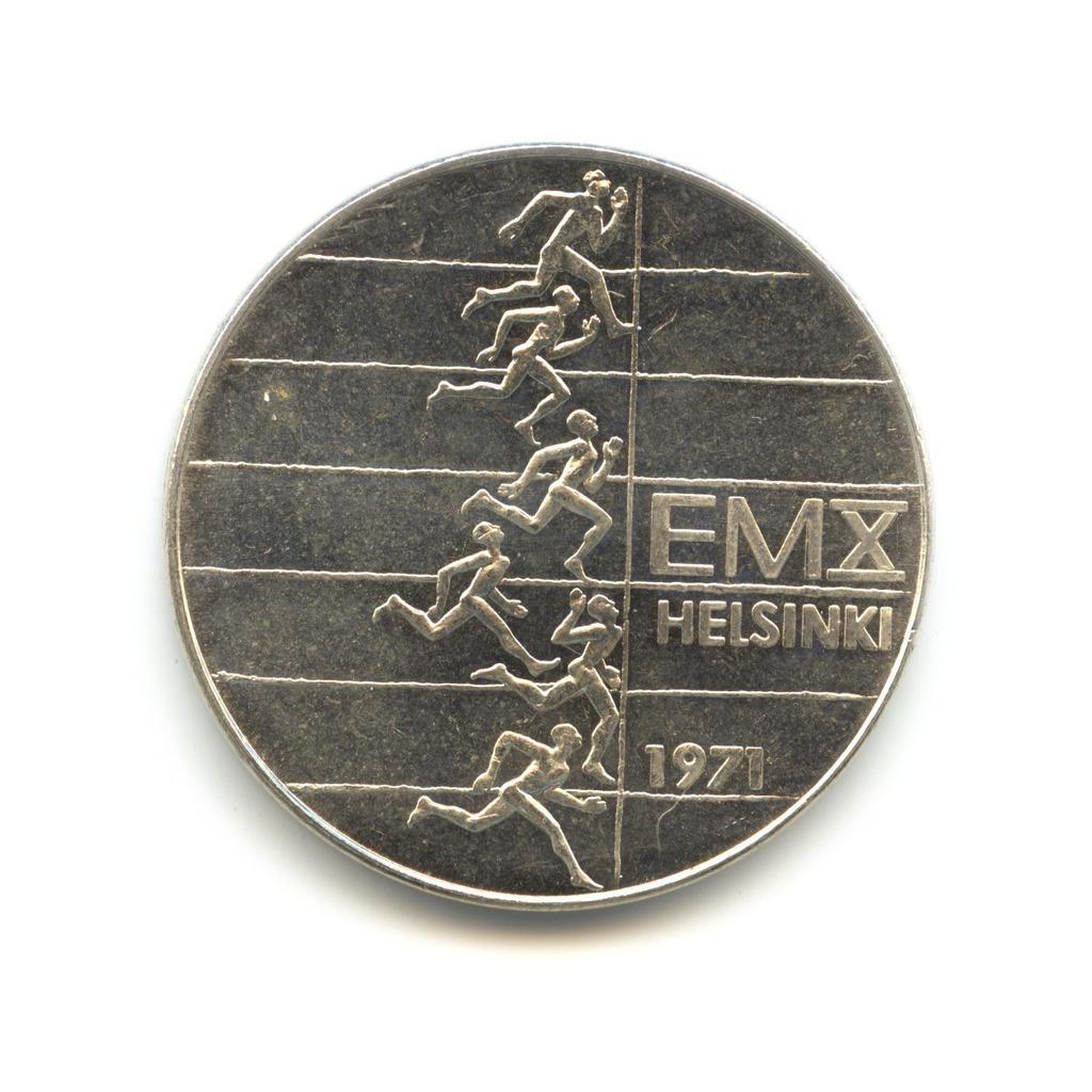 10 марок 1971— XЧемпионат Европы полегкой атлетике— Финляндия