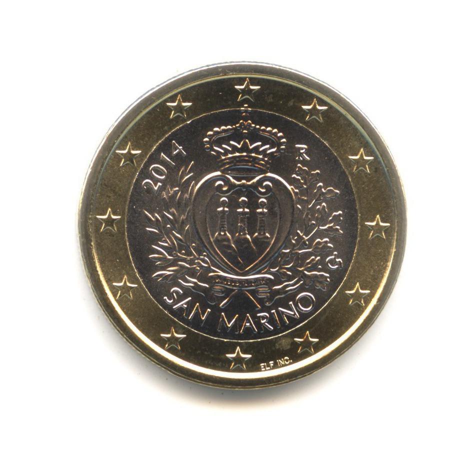 1 евро 2014 года — Сан-Марино