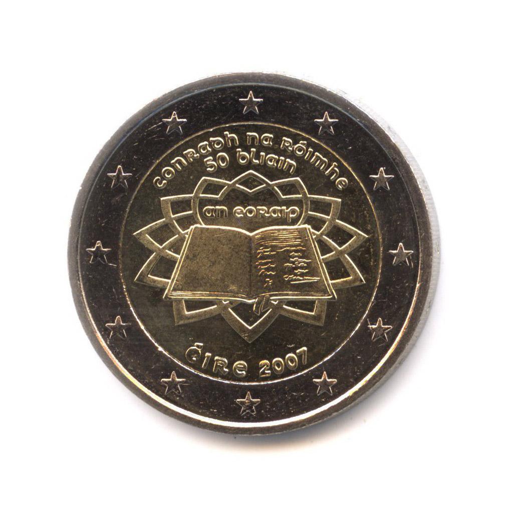 2 евро 2007 — 50 лет подписания Римского договора — Ирландия