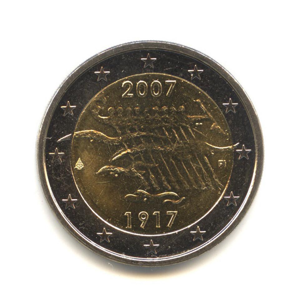 2 евро 2007 — 90 лет независимости Финляндии — Финляндия