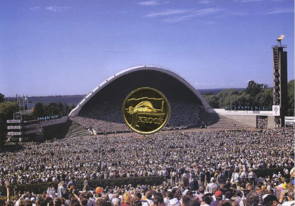 1 крона 1999 — Песенный фестиваль — Эстония
