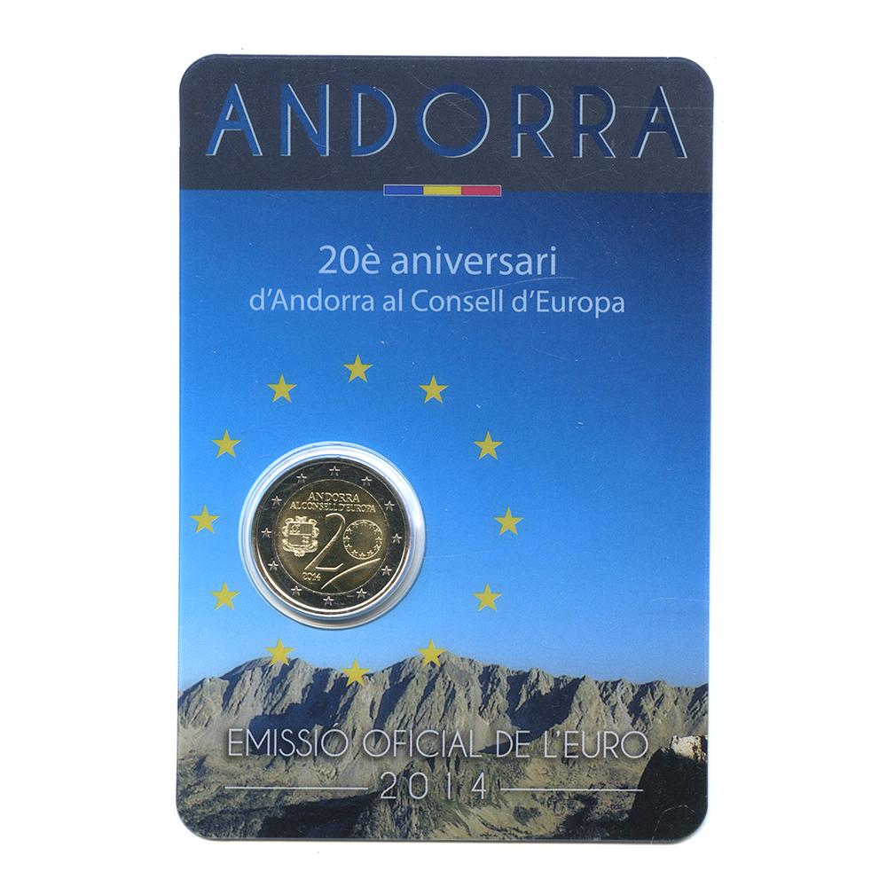 2евро 2014— 20 лет вступлению всовет Европы — Андорра