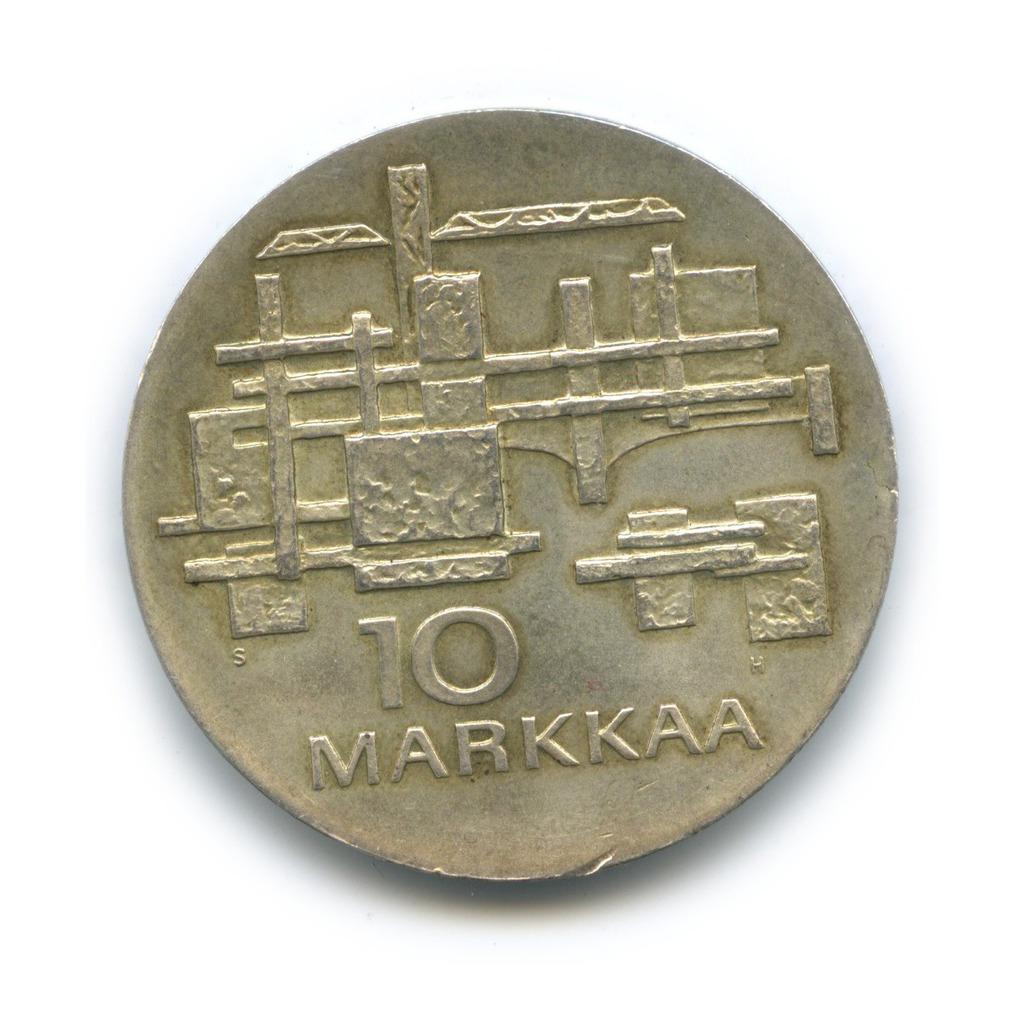 10 марок 1967— 50 лет независимости — Финляндия