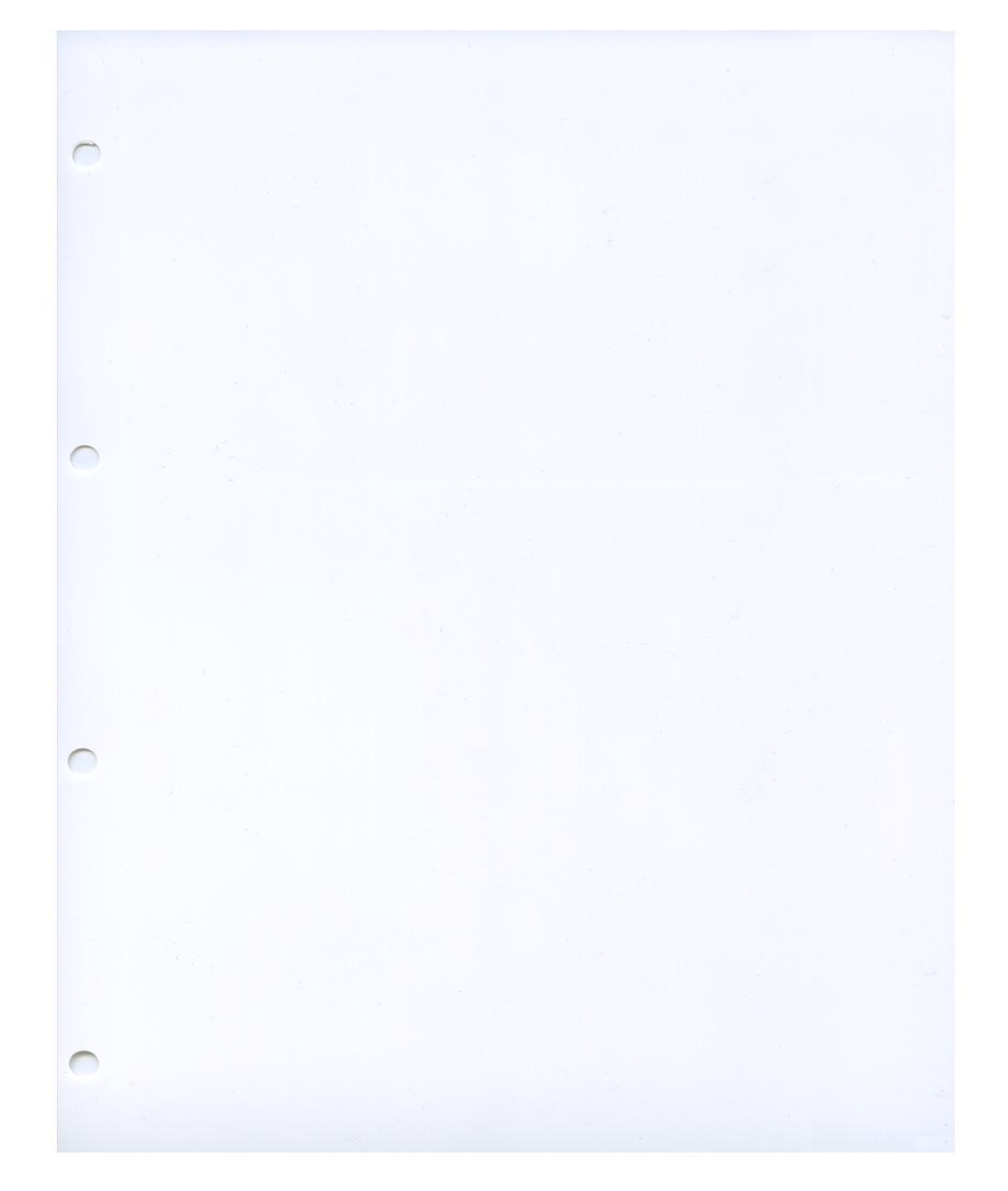 Лист Grande промежуточный белый «Стандарт»
