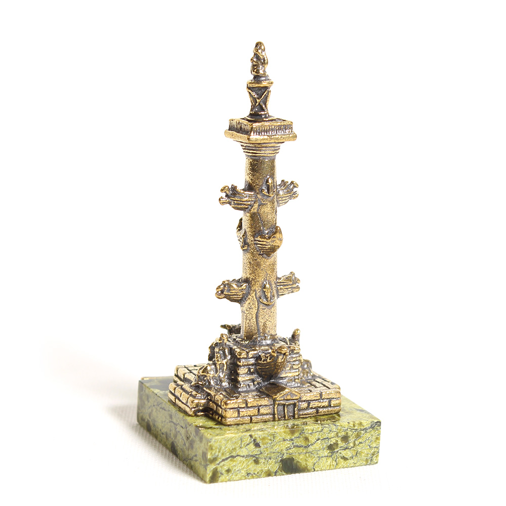 Сувенир «Ростральная колонна» назмеевике