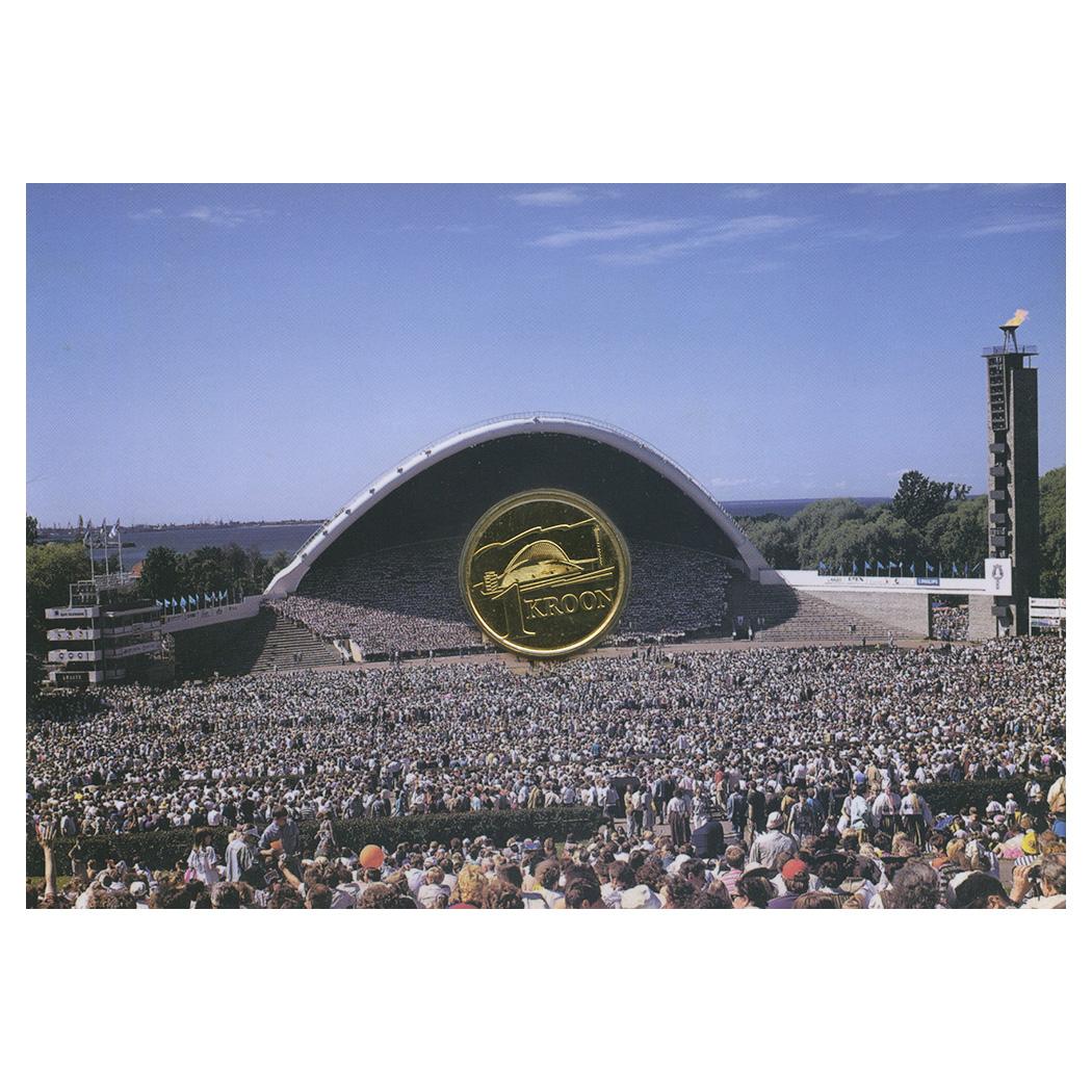 1 крона 1999— Песенный фестиваль — Эстония