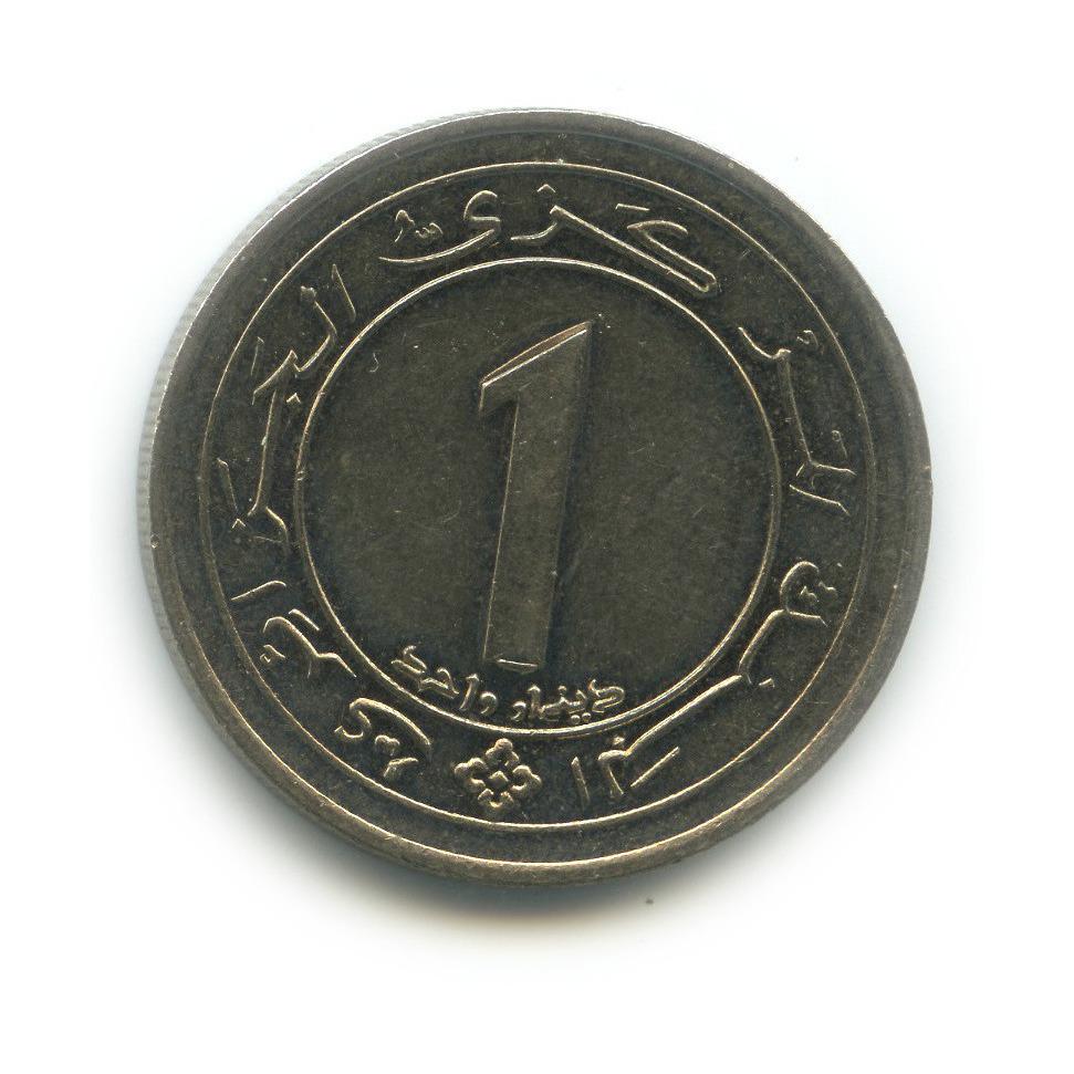 1 динар 1987— 25 лет Независимости — Алжир