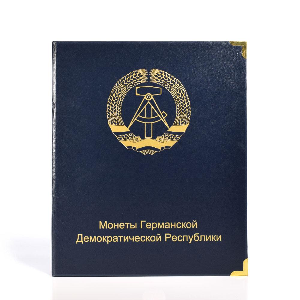 Альбом «Памятные ирегулярные монеты Германской Демократической Республики »